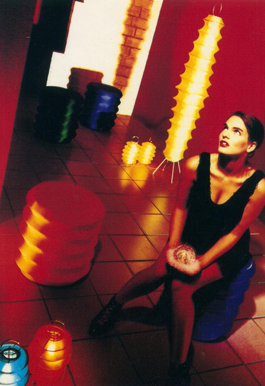 SERAPHIN Tabouret Mousse et housse ... 1992