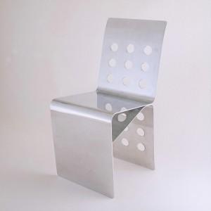 DIX-HUIT TROUS Chaise Aluminium 18 AOUT  ( Berrux - ... 1990