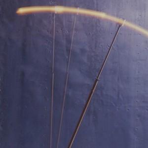 POUSSAH Lampadaire télescopique Métal ch... 1987