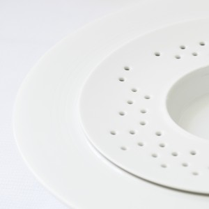 RESTAURANT GUY SAVOY Assiette vapeur Porcelaine Design: Bruno ... 2014
