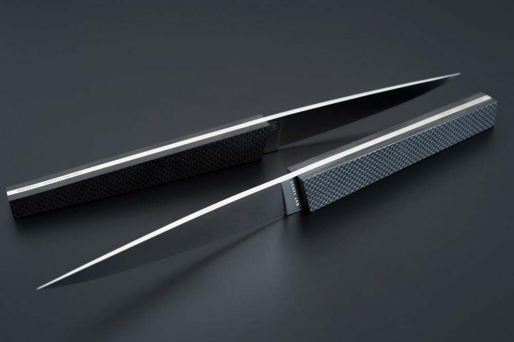 ULU - SAVIK Couteaux de table Carbone ... 2013